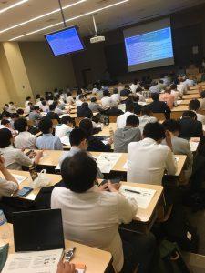 シンポジウムの様子(明治大学駿河台キャンパスLT1022教室)